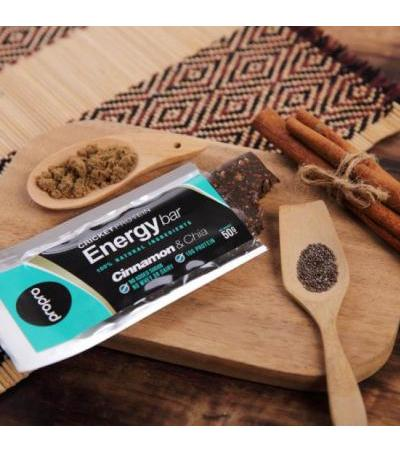 Cricket Protein Energy Bar Cinnamon & Chia