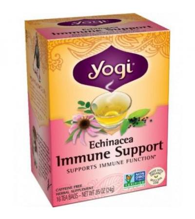 Echinacea Immune Support Tea Yogi