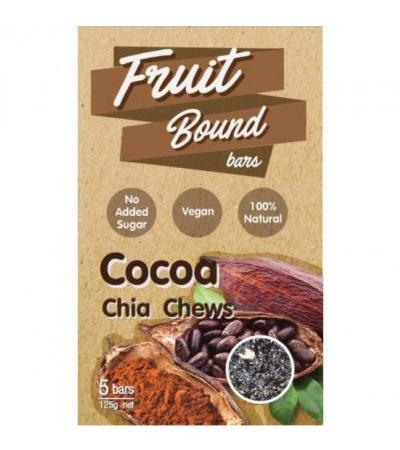 Fruit Bound Bars Cocoa 125 gram
